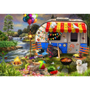 Funbox Holiday Days: Caravanning 500 Piece Jigsaw Puzzle - Get Puzzled