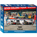 Impact Ford Mountain Moments Bathurst Pitstop Falcon XC 1000 Piece Jigsaw Puzzle - Get Puzzled
