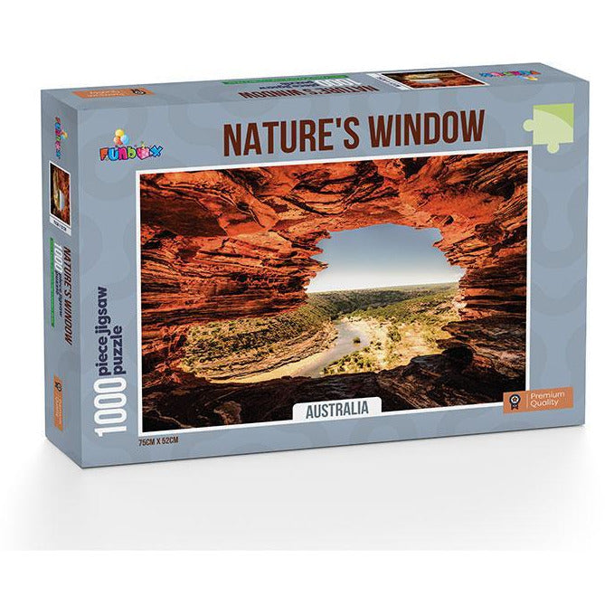 Funbox Natures Window Western Australia 1000 Piece Jigsaw Puzzle - Get Puzzled