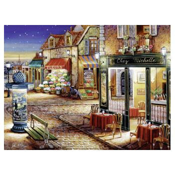 Ravensburger - Paris's Secret Corner Puzzle 1500 Piece Jigsaw Puzzle - Get Puzzled