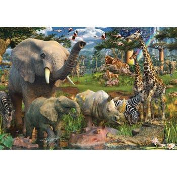 Ravensburger At the Waterhole Puzzle 18000 Piece Jigsaw Puzzle - Get Puzzled
