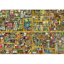 Ravensburger - Magical Bookcase Puzzle 18000 Piece Jigsaw Puzzle - Get Puzzled