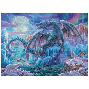 Ravensburger Mystical Dragons 500 Piece Jigsaw Puzzle. - Get Puzzled