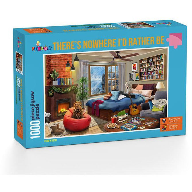 Funbox Theres Nowhere I'd Rather Be Puzzle 1,000 Piece Jigsaw Puzzle - Get Puzzled