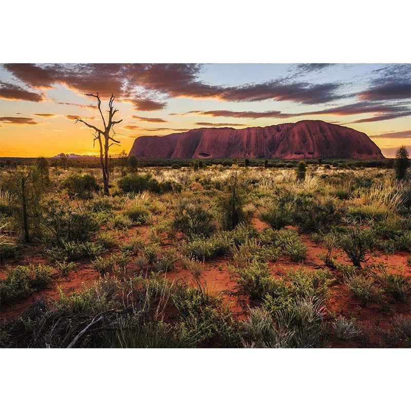 Funbox Uluru Sunset Ayres Rock 1000 Piece Jigsaw Puzzle - Get Puzzled