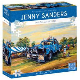 Jenny Sanders At The Ute Fair 1000 Piece Jigsaw Puzzle. - Get Puzzled