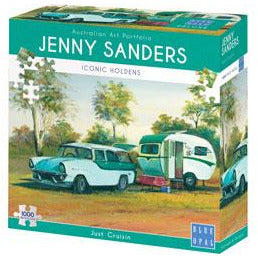 Jenny Saunders Just Cruizin 1000 Piece Jigsaw Puzzle - Get Puzzled