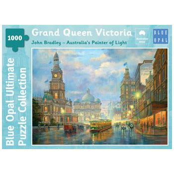 John Bradley Grand Queen Victoria 1000 Piece Jigsaw Puzzle - Get Puzzled