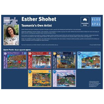 Esther Shohet Constitution Dock 1000 Piece Jigsaw Puzzle - Get Puzzled