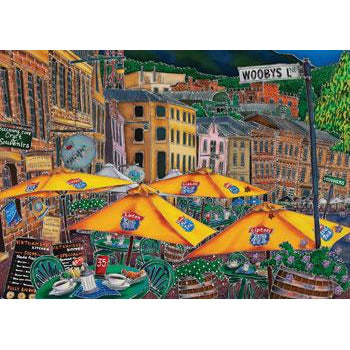 Esther Shohet Wooby's Lane 1000 Piece Jigsaw Puzzle - Get Puzzled