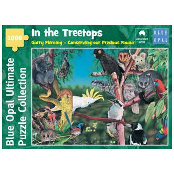Blue Opal Garry Fleming In the Treetops 1000 Piece Jigsaw Puzzle - Get Puzzled