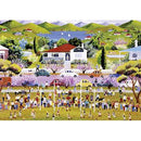 Narelle Wildman Saturday Morning Footy 1000 Piece Jigsaw Puzzle - Get Puzzled