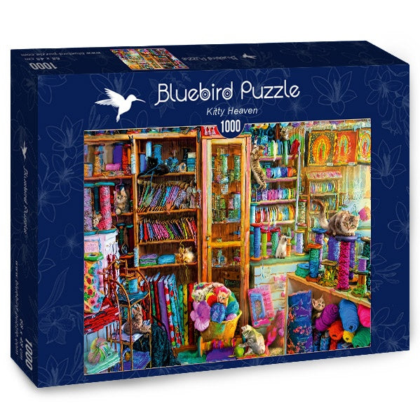 Bluebird Kitty Heaven 1000 Piece Jigsaw Puzzle - Get Puzzled