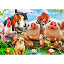 Bluebird Petting Farm 500 Piece Jigsaw Puzzle - Get Puzzled