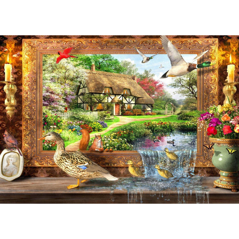 Bluebird Still to Life 1500 Piece Jigsaw Puzzle - Get Puzzled