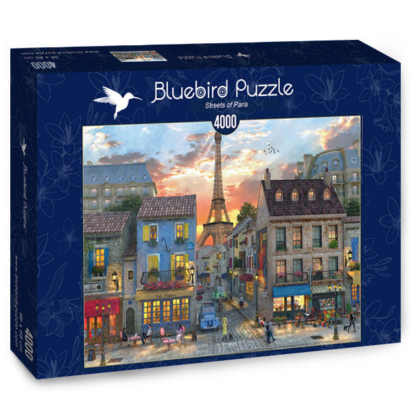 Bluebird Streets Of Paris 4000 Piece Jigsaw Puzzle - Get Puzzled
