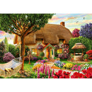 Bluebird Thatched Cottage 1000 Piece Jigsaw Puzzle - Get Puzzled