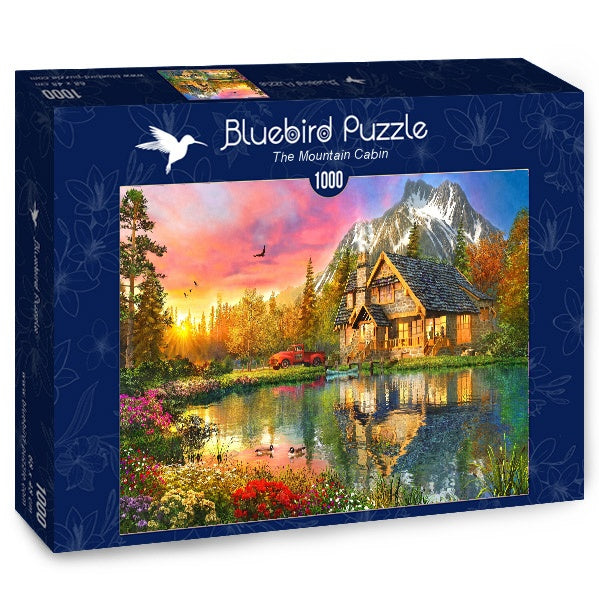 Bluebird The Mountain Cabin 1000 Piece Jigsaw Puzzle - Get Puzzled
