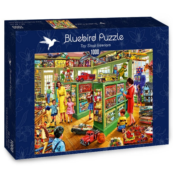 Bluebird Toy Shop Interiors 1000 Piece Jigsaw Puzzle - Get Puzzled