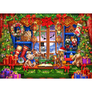 Bluebird Ye Old Christmas Shoppe 2000 Piece Jigsaw Puzzle - Get Puzzled