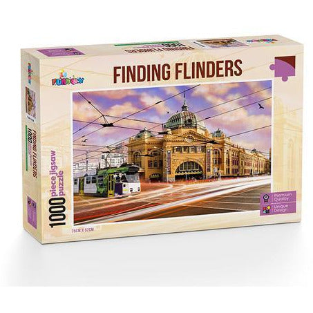 Funbox Finding Flinders Puzzle 1000 Piece Jigsaw Puzzle - Get Puzzled