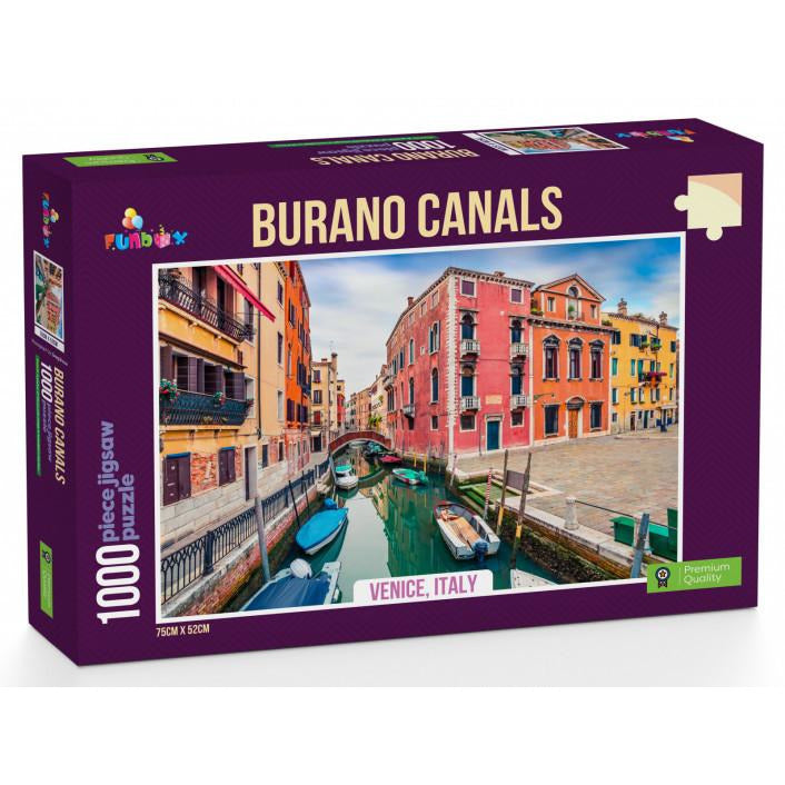 Funbox Burano Canals 1000 Piece Jigsaw Puzzle - Get Puzzled