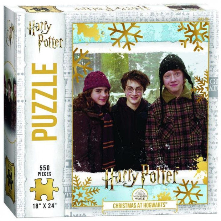 The Harry Potter Christmas at Hogwarts Jigsaw Puzzle 550 Pieces - Get Puzzled