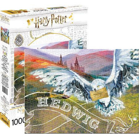 Aquarius Harry Potter Hedwig Puzzle 1,000 Piece Jigsaw Puzzle - Get Puzzled