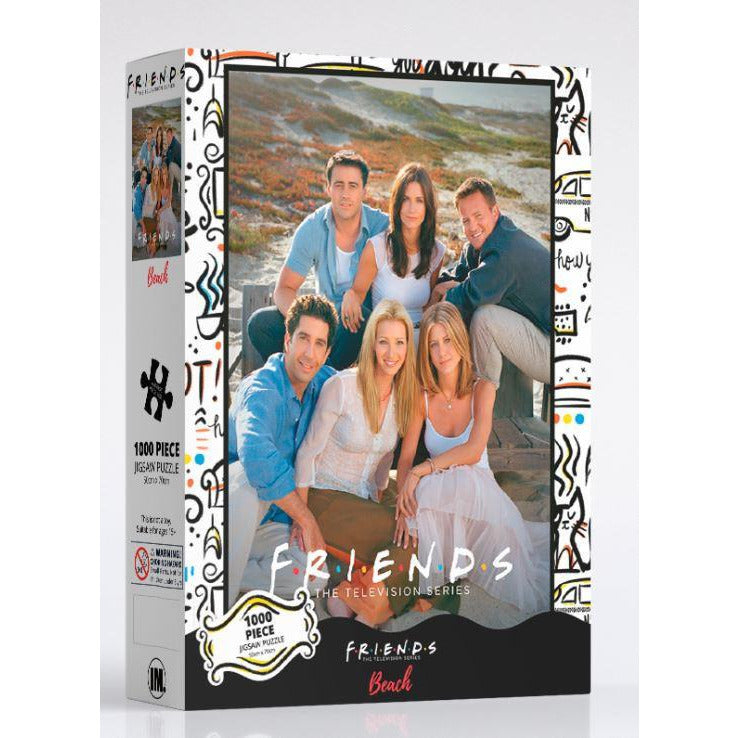 Impact Puzzle Friends Beach 1000 Piece Jigsaw Puzzle - Get Puzzled