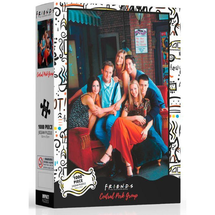 Friends Central Perk Group Jigsaw Puzzle 1,000 Pieces - Get Puzzled