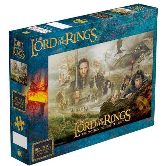 Impact The Lord Of The Rings Trilogy Puzzle 1,000 Piece Jigsaw Puzzle - Get Puzzled