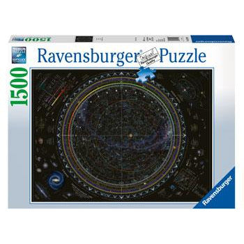 Ravensburger - Map of the Universe Puzzle 1500 Piece Jigsaw Puzzle - Get Puzzled
