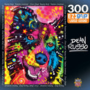 Masterpieces Dean Russo Happy Boy Dog Ez Grip Puzzle 300 Piece Jigsaw Puzzle - Get Puzzled