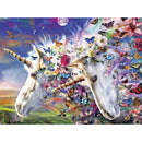Masterpieces Medley Unicorns & Butterflies Ez Grip 300 Piece Jigsaw Puzzle - Get Puzzled