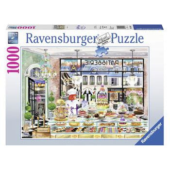 Ravensburger Wanderlust Good Morning Paris 1000 Piece Jigsaw Puzzle - Get Puzzled