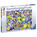 Ravensburger Tropical Traffic Fish Puzzle 500 Piece Jigsaw Puzzle - Get Puzzled