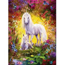 Ravensburger Unicorn and Foal Puzzle 500 Piece Jigsaw Puzzle - Get Puzzled