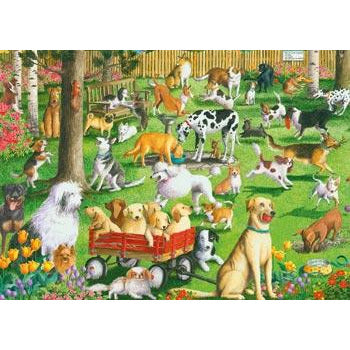Ravensburger At the Dog Park Puzzle 500 Piece Large Format Jigsaw Puzzle - Get Puzzled