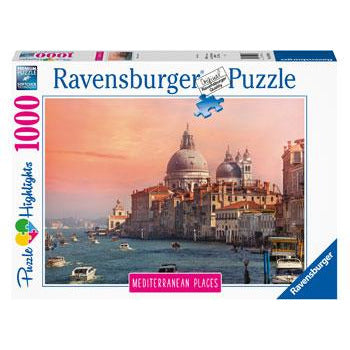 Ravensburger Mediterranean Italy 1000 Piece Jigsaw Puzzle - Get Puzzled