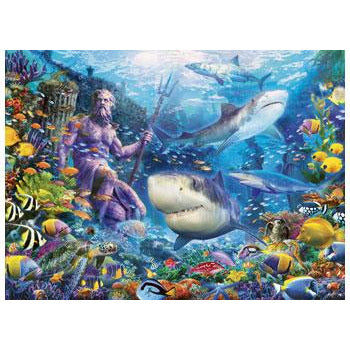 Ravensburger King of the Sea 500 Piece Jigsaw Puzzle - Get Puzzled