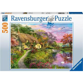 Ravensburger Country House 500 Piece Jigsaw Puzzle - Get Puzzled
