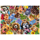 Ravensburger Animal Selfie 500 Piece Jigsaw Puzzle - Get Puzzled