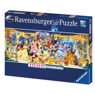 Ravensburger Disney Group Photo Panoramic Jigsaw Puzzle 1000 Pieces - Get Puzzled