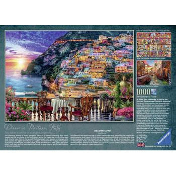 Ravensburger Positano Italy Puzzle 1000 Piece Jigsaw Puzzle - Get Puzzled
