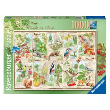 Ravensburger Wondrous Tree 1000 Piece Jigsaw Puzzle - Get Puzzled