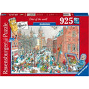 Ravensburger Amsterdam in Winter 925 Piece Jigsaw Puzzle - Get Puzzled