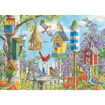 Ravensburger Home Tweet Home 300 Piece Large Format Jigsaw Puzzle - Get Puzzled