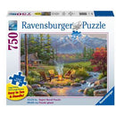 Ravensburger Riverside Livingroom 750 Piece Large Format Jigsaw Puzzle - Get Puzzled