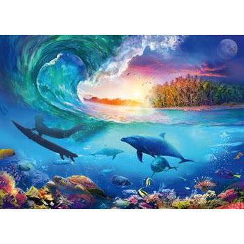 Ravensburger Catch a Wave 1000 Piece Jigsaw Puzzle - Get Puzzled