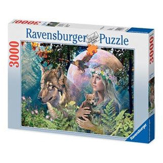 Ravensburger Lady of the Forest Puzzle 3000 Piece Jigsaw Puzzle - Get Puzzled